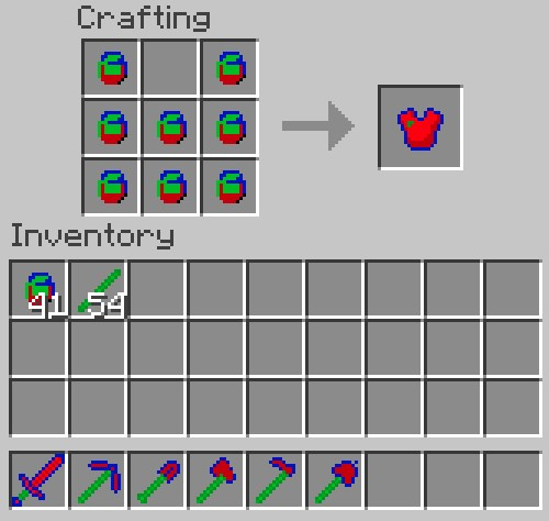 How To Make Chest Plate Minecraft