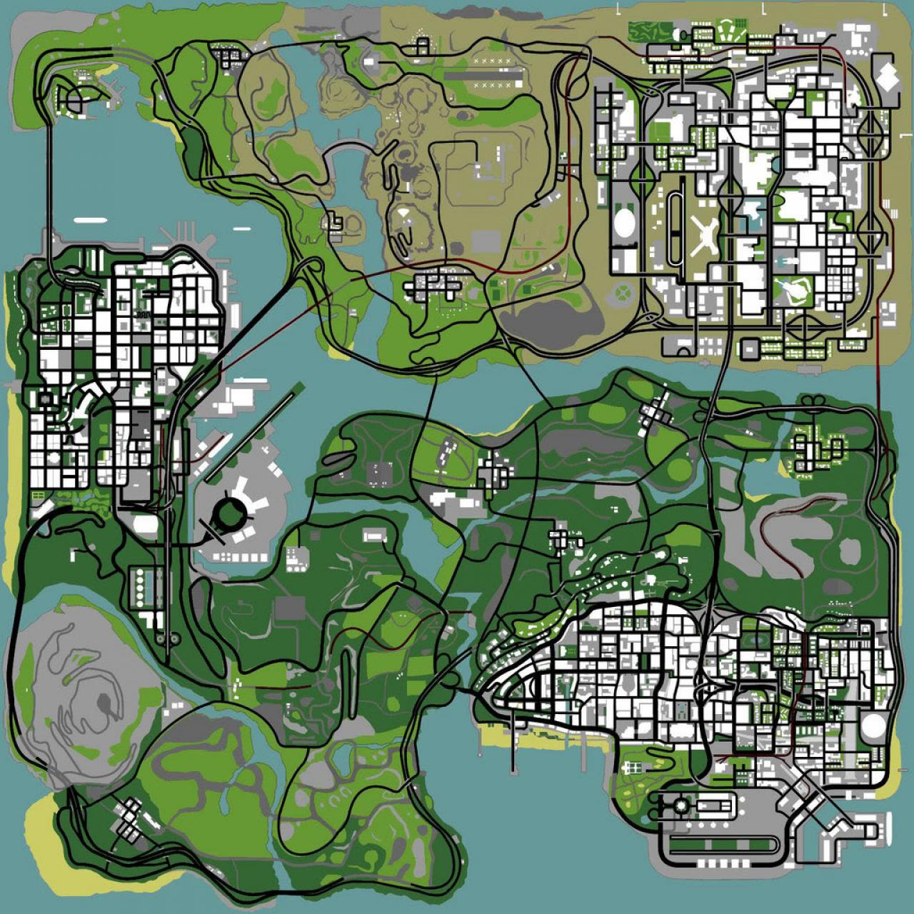 Grand Theft Auto San Andreas Minecraft Project