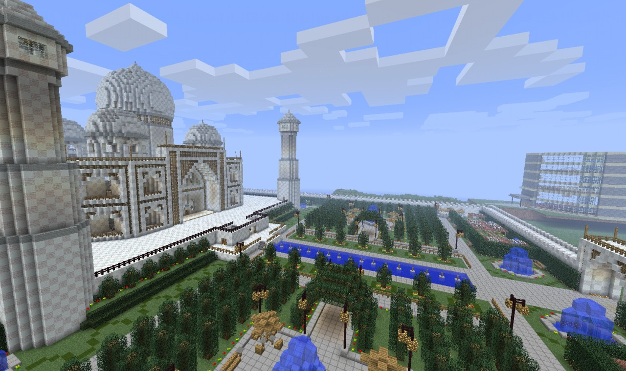 Taj Mahal. Minecraft Project