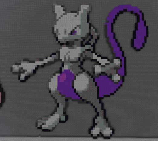 Pixel Art Minecraft Schematics