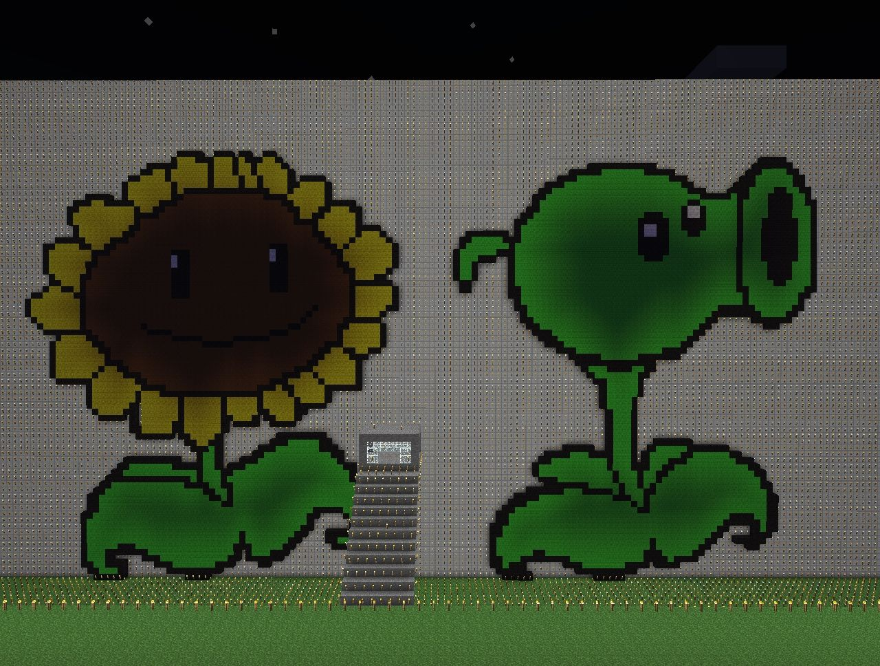 Giant Pvz Plants Minecraft Project