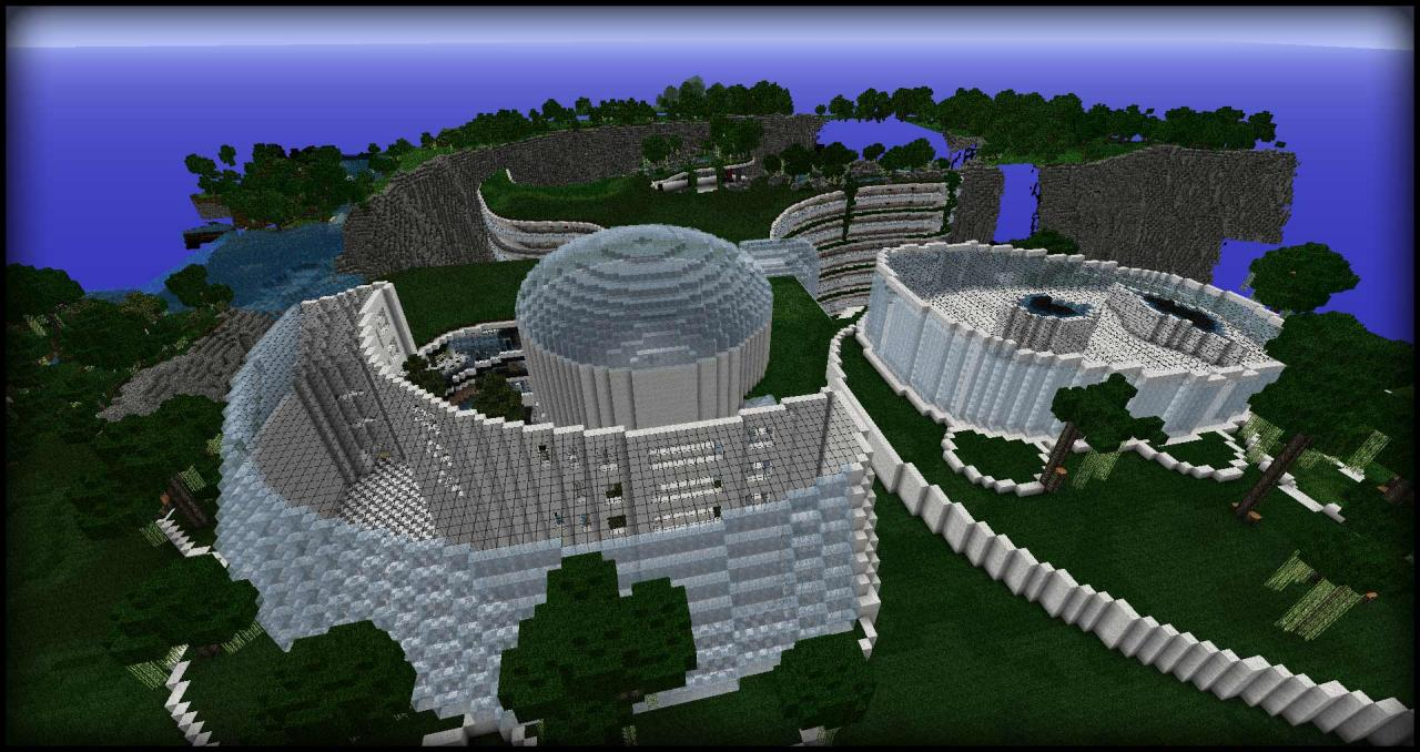 The Hesperides Shelter Minecraft Project