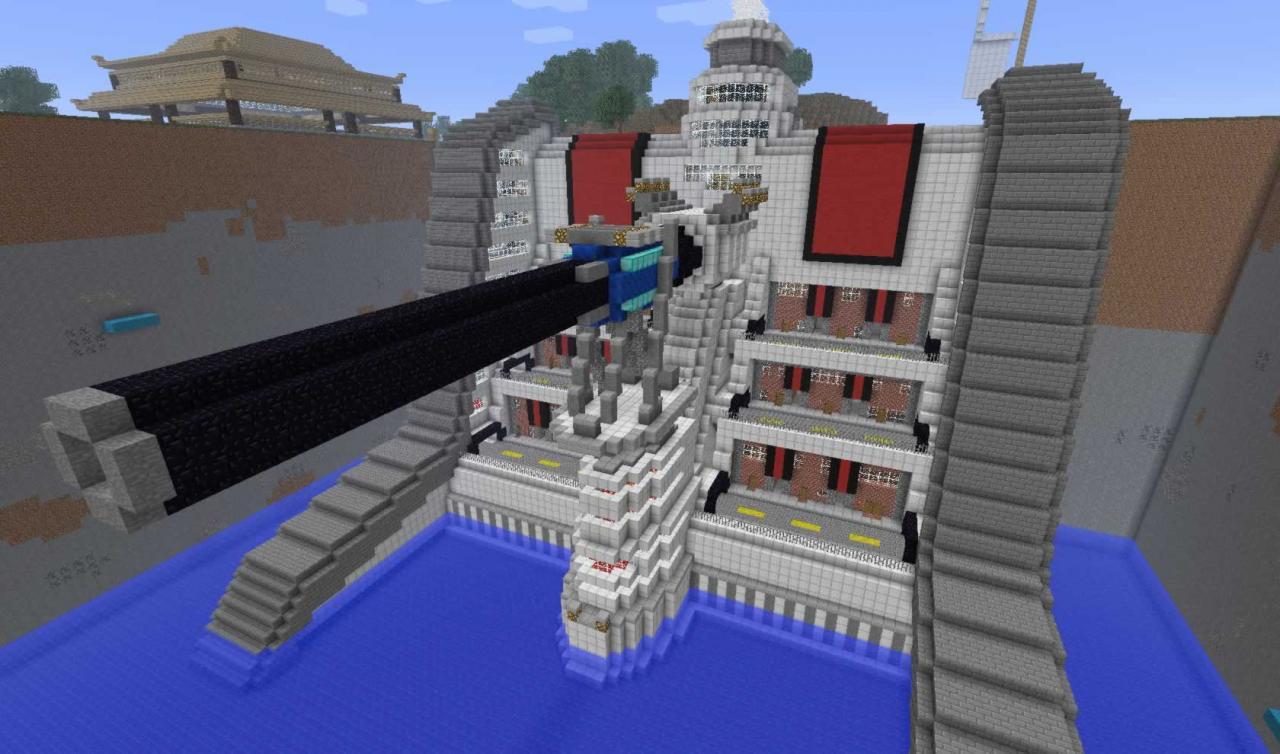 Junon Harbor Minecraft Project