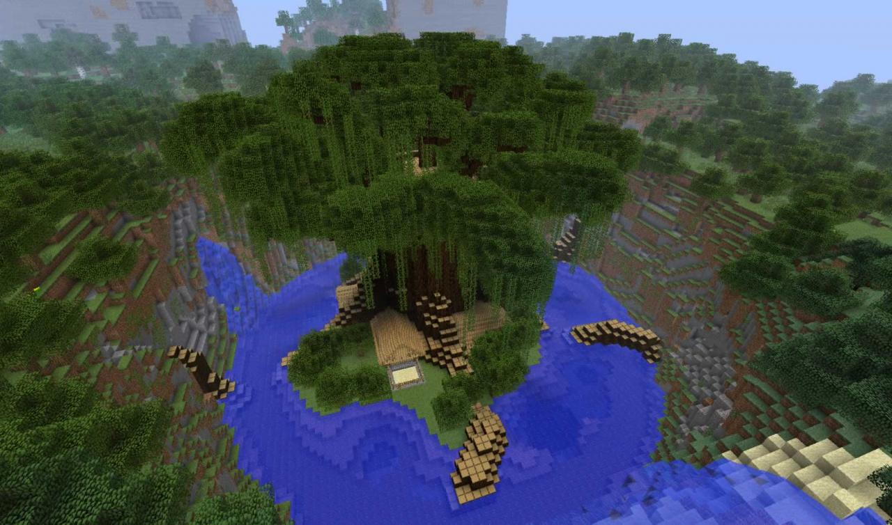 minecraft enchanted forest