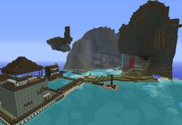 Nice world save! With 2 houses, farms and epic mountains! Minecraft Project