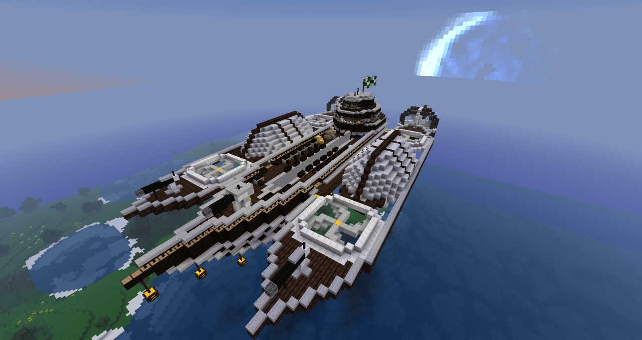 Meridian Freight-ship Minecraft Project