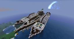 Meridian Freight-ship Minecraft Map & Project