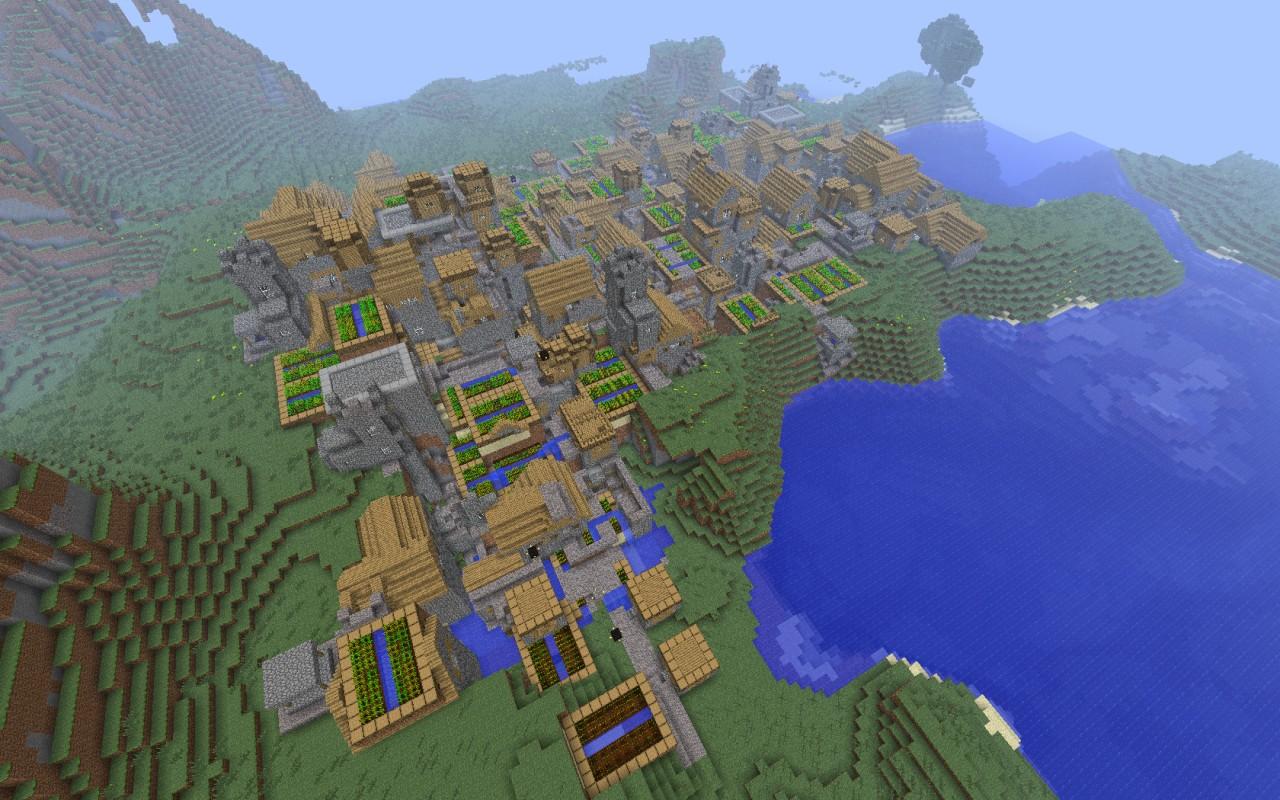 Good Town Building Seeds Minecraft