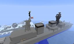 Asagiri Destroyer JMSDF Minecraft Map & Project