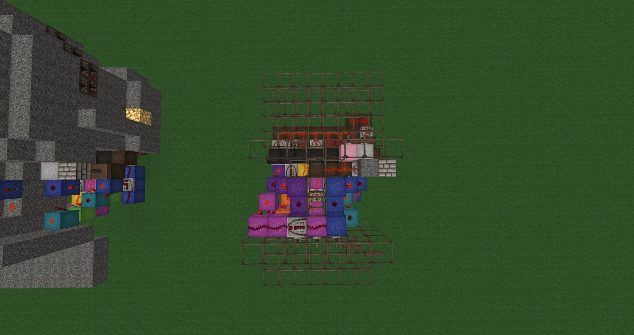 compact combination lock minecraft project