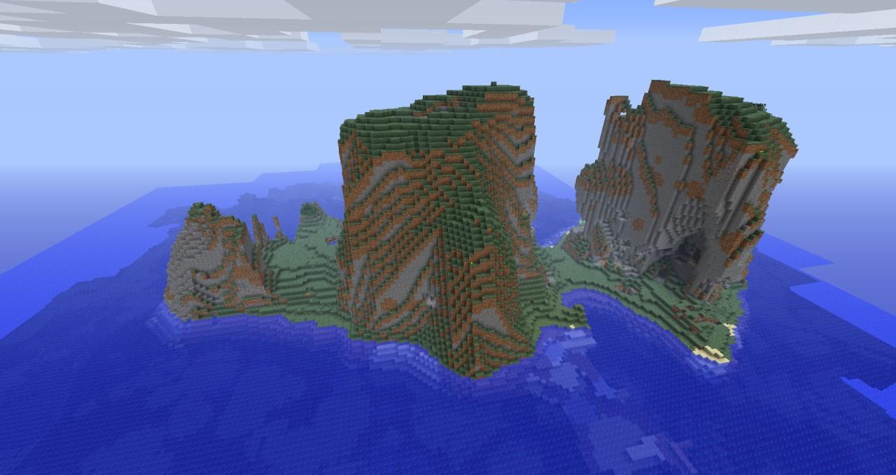 Back Side of Survival Island