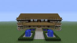 wooden mansion (no decorations, they are still being worked on) Minecraft Map & Project