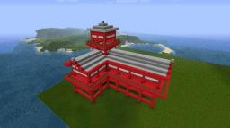 Little Japanese Temple Minecraft Map & Project