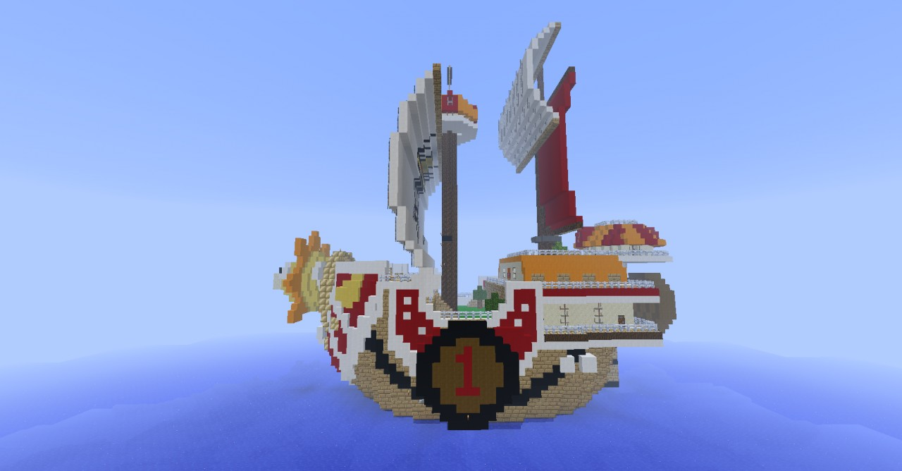 The Thousand Sunny One Piece Minecraft Project