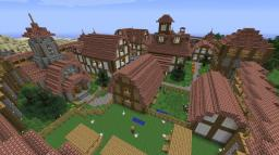Medieval village Minecraft Project
