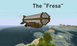 Long-Range Corvette ('Fresa') Minecraft Map & Project