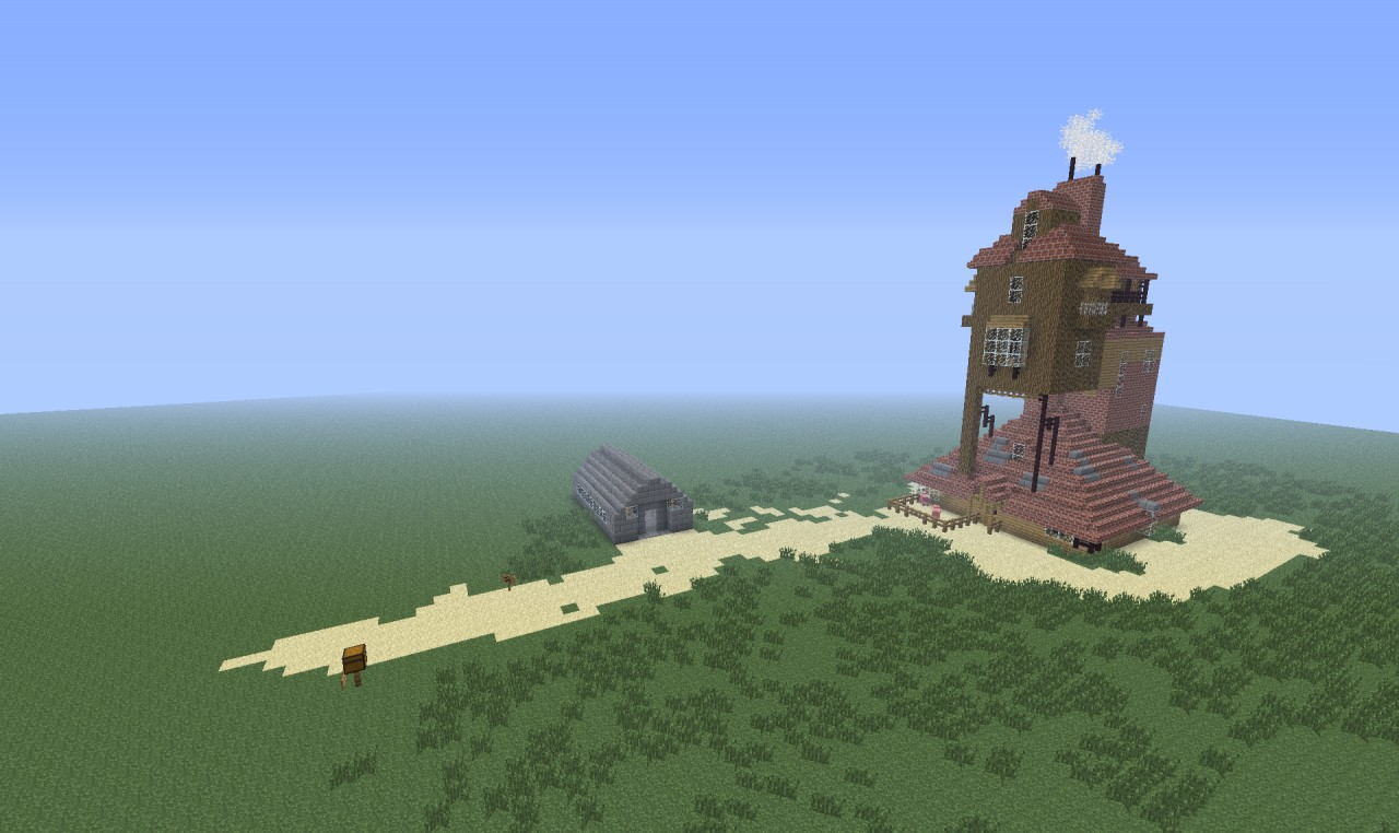 The Burrow Harry Potter Minecraft The Burrow Harry Potter