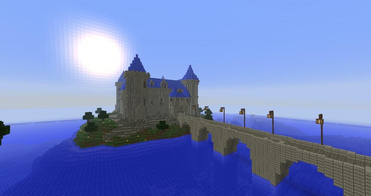 Ch teau de saumur seriousmc minecraft project - Chateau de minecraft ...