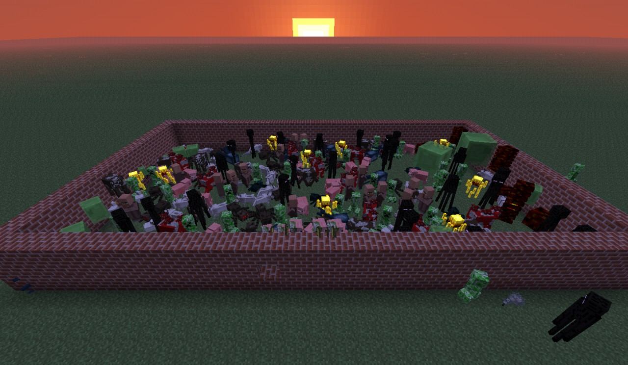Gallery For > Minecraft Images All Mobs