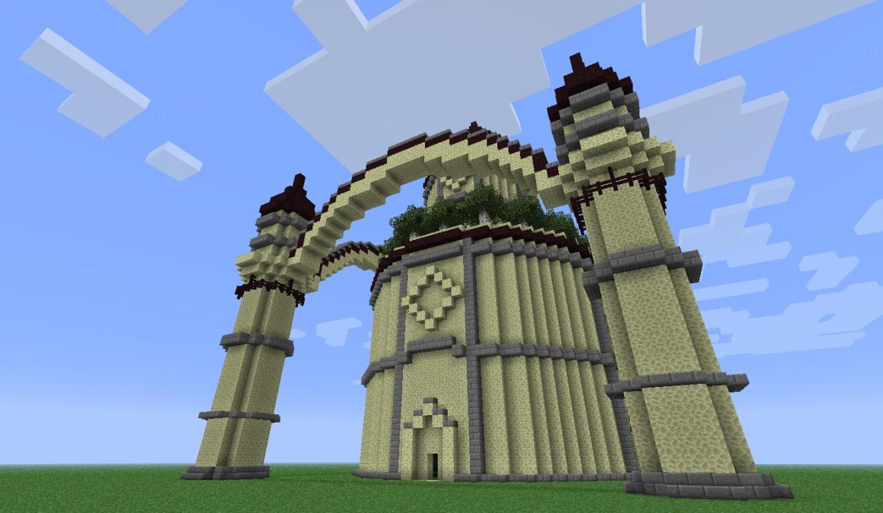 Desert Castle Minecraft