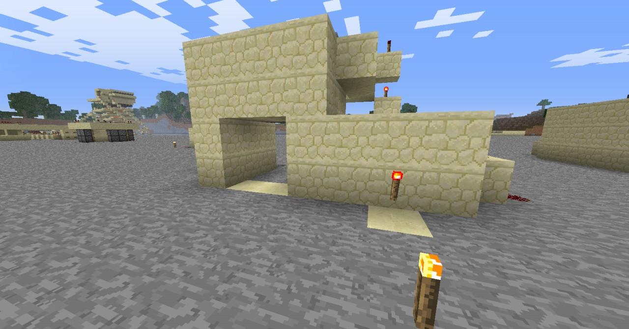 how to make a secret door in minecraft