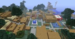 Silver Leaf City!!! Minecraft Map & Project