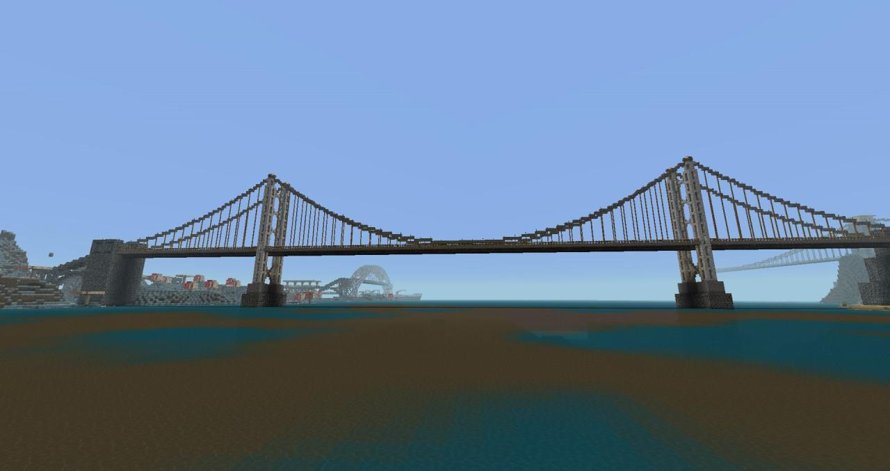 Suspension Bridge - not based on any particular bridge.
