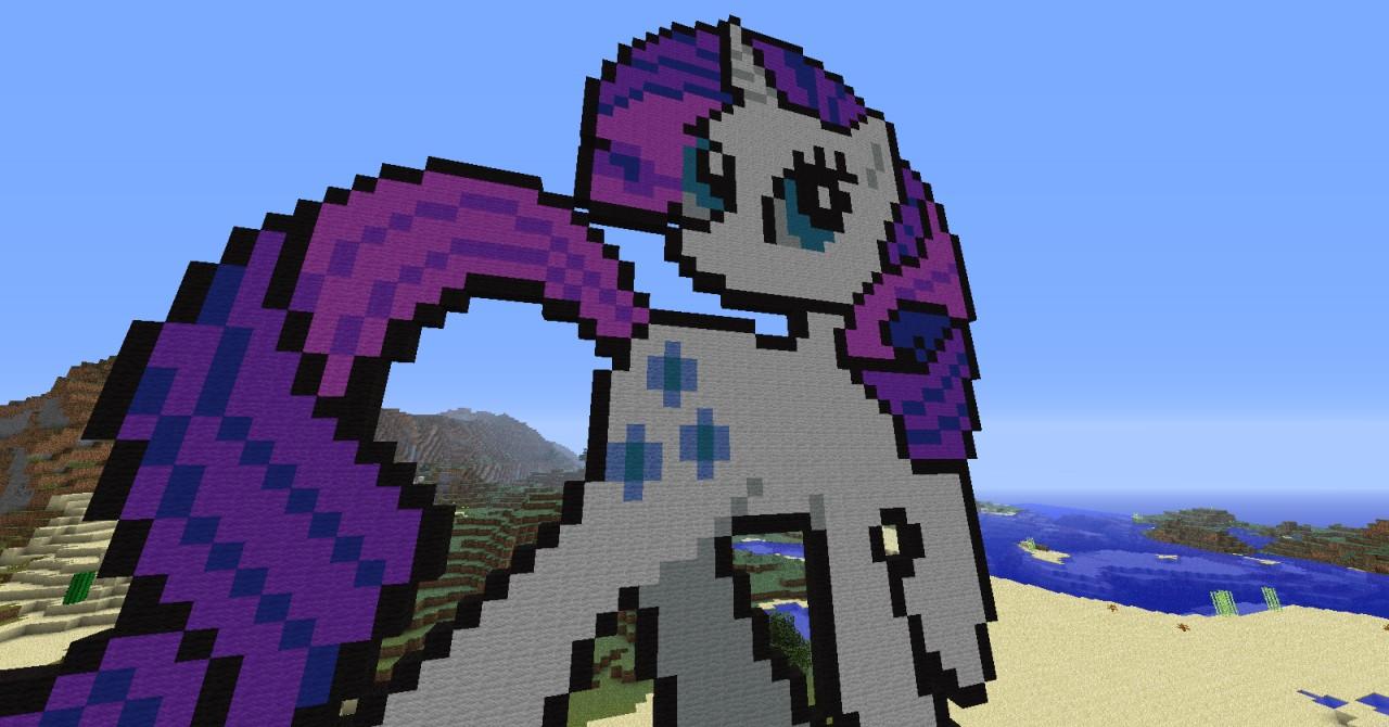 My Little Pony Rarity Minecraft Project
