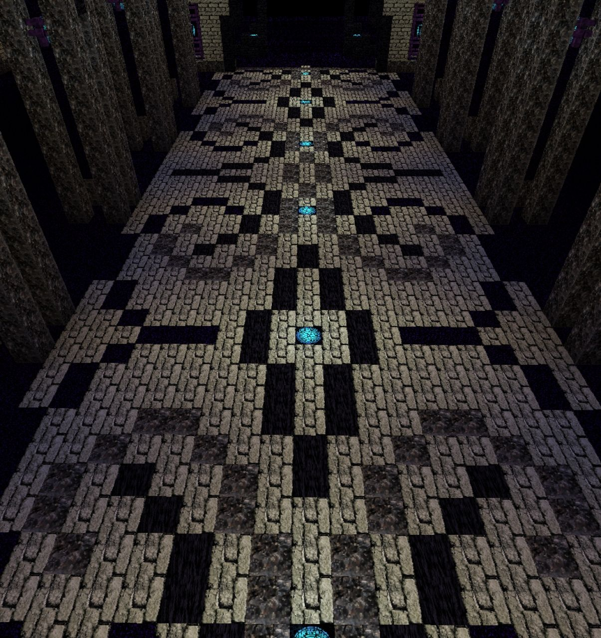 The end cathedral with schematic and world download for Window design minecraft