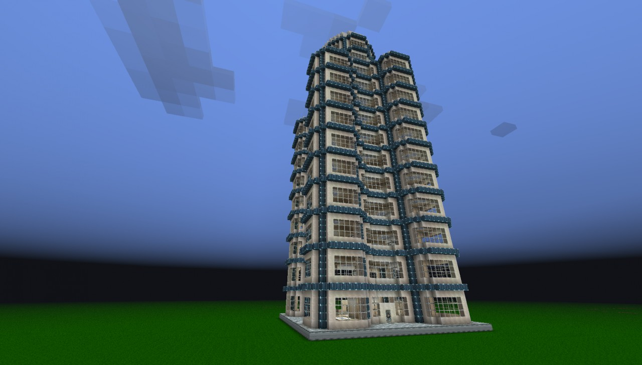 Modern Office Tower Minecraft Project