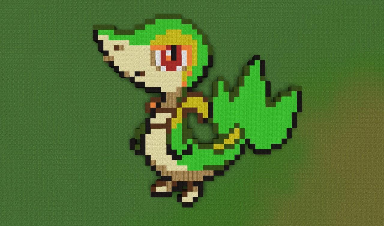 Pixel Art Collection 1 Pokemon Amp Yoshi Minecraft Project