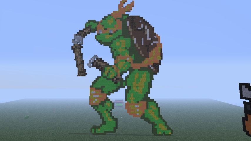 Pixel Art Fun Time. The Start Of My Ninja Turtle Project