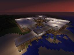 Japanese Modern on the beach Minecraft Map & Project