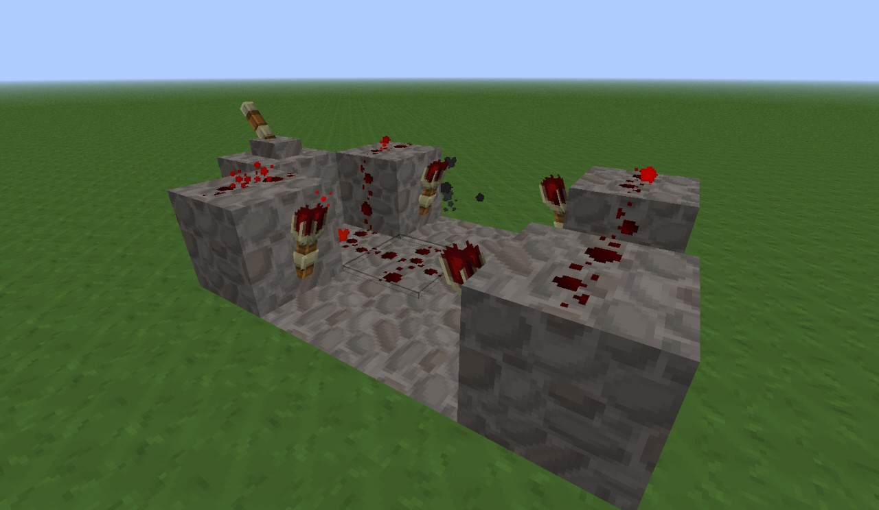 Redstone repeater minecraft project