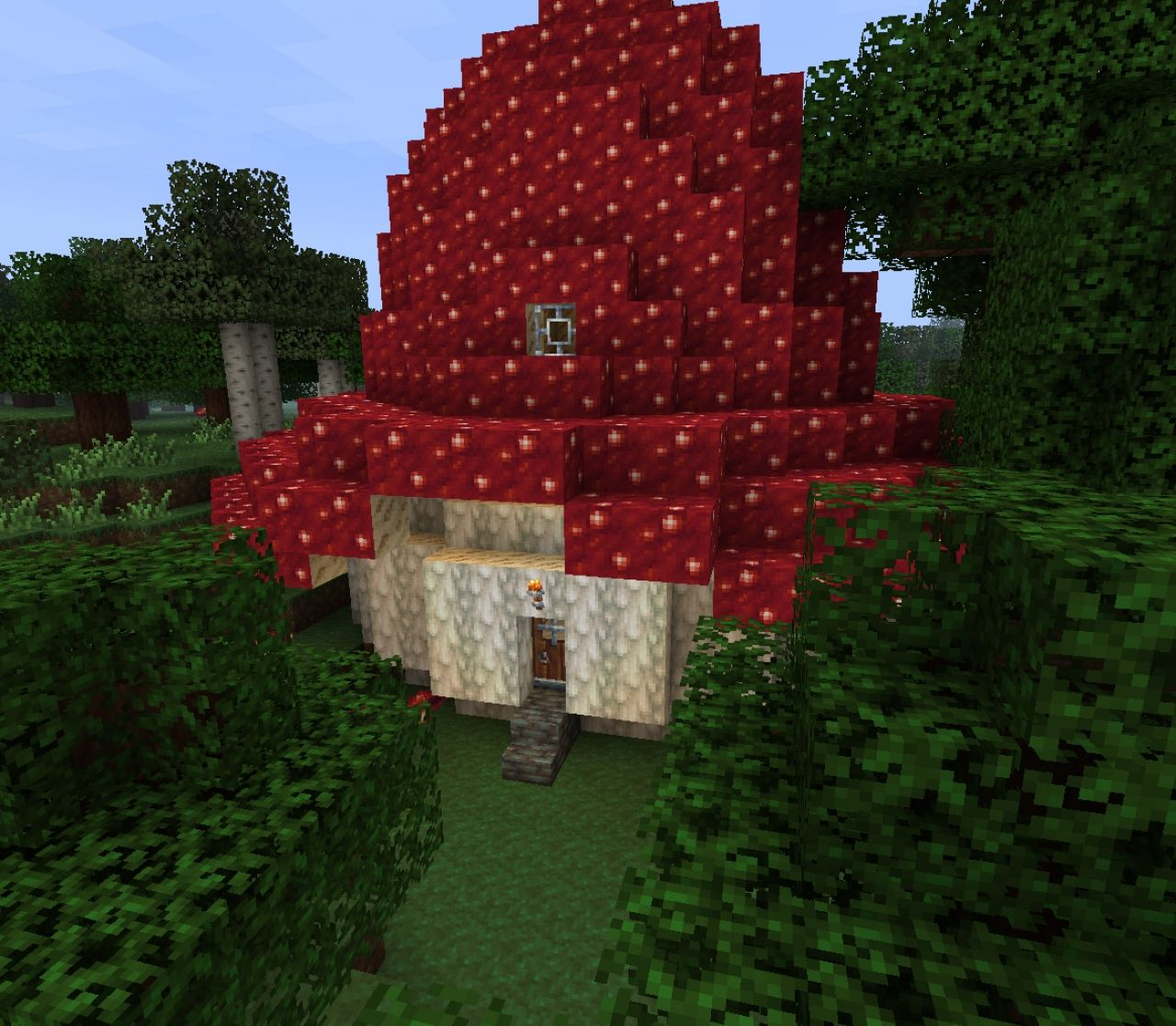 How To Craft A Mushroom Block In Minecraft