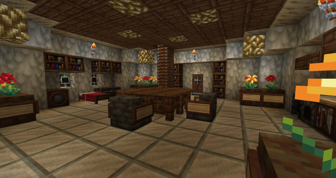 Minecraft Home Interior Home Decoration Minecraft Home Interior