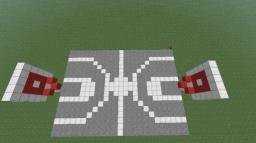 Outdoor basketball court Minecraft Map & Project