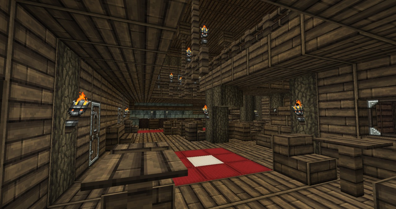 Western Inspired Saloon Minecraft Project
