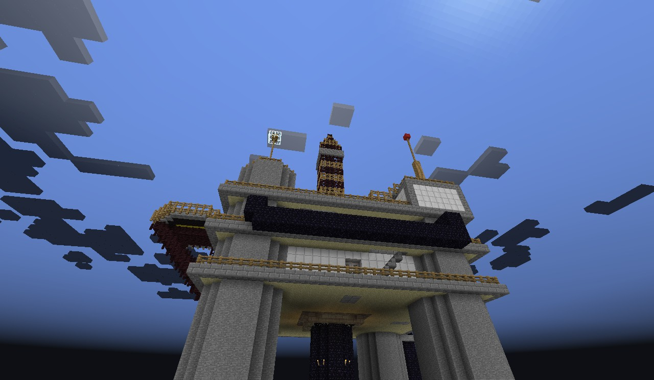 Oil Rig Minecraft Project