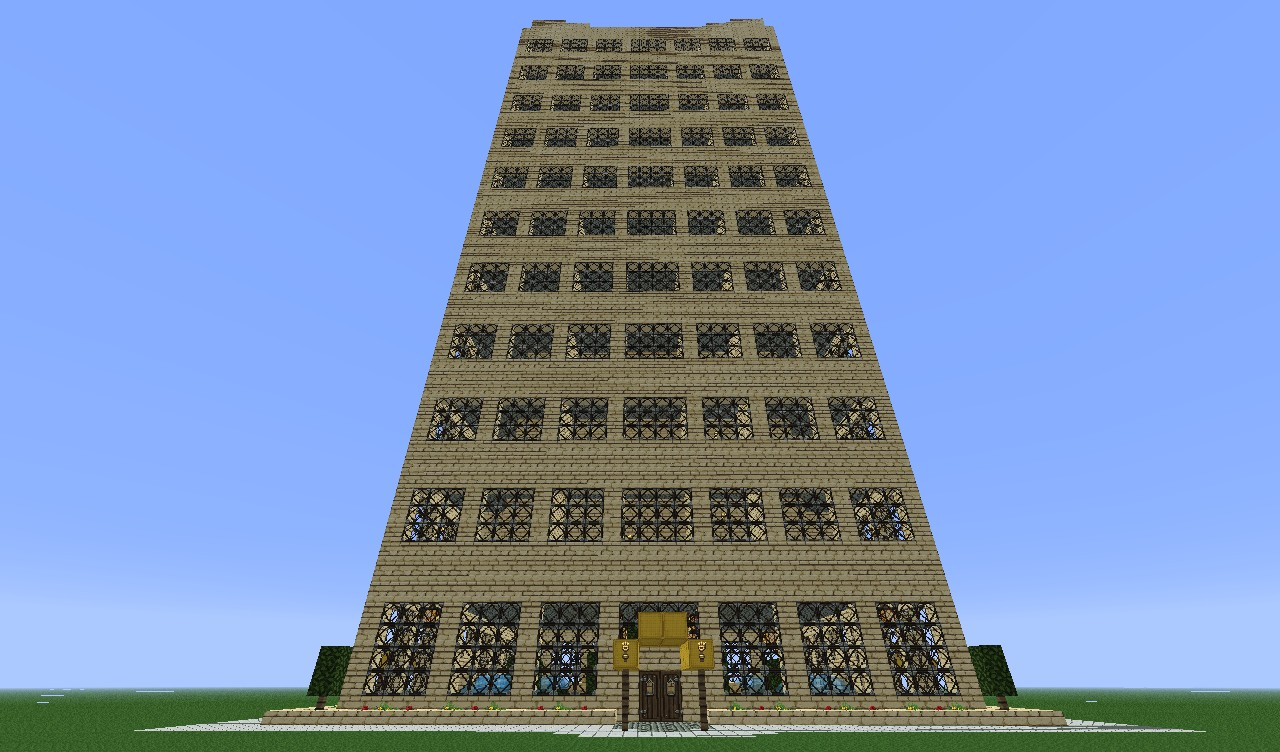 city building.  City Building Minecraft Project