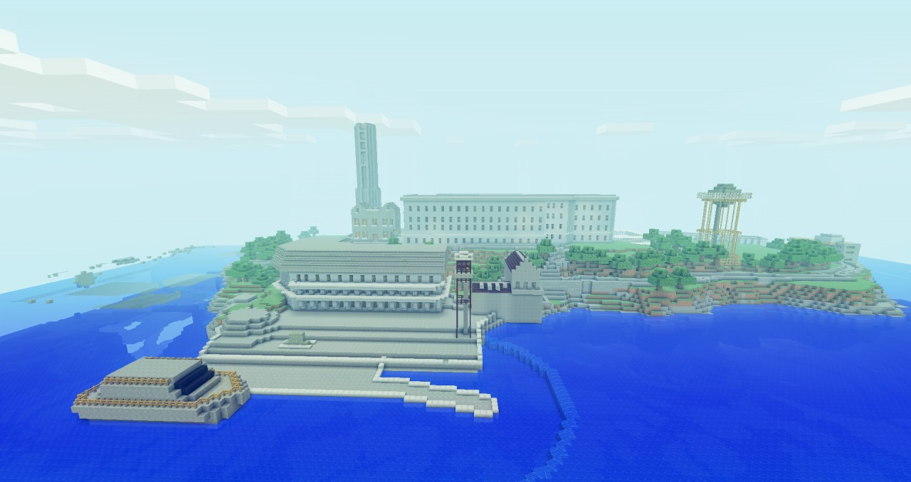 Alcatraz Map Layout