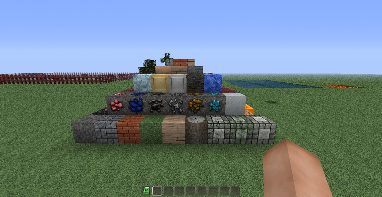 texture pack show Minecraft Map