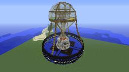 Spawn Tower Minecraft Map & Project