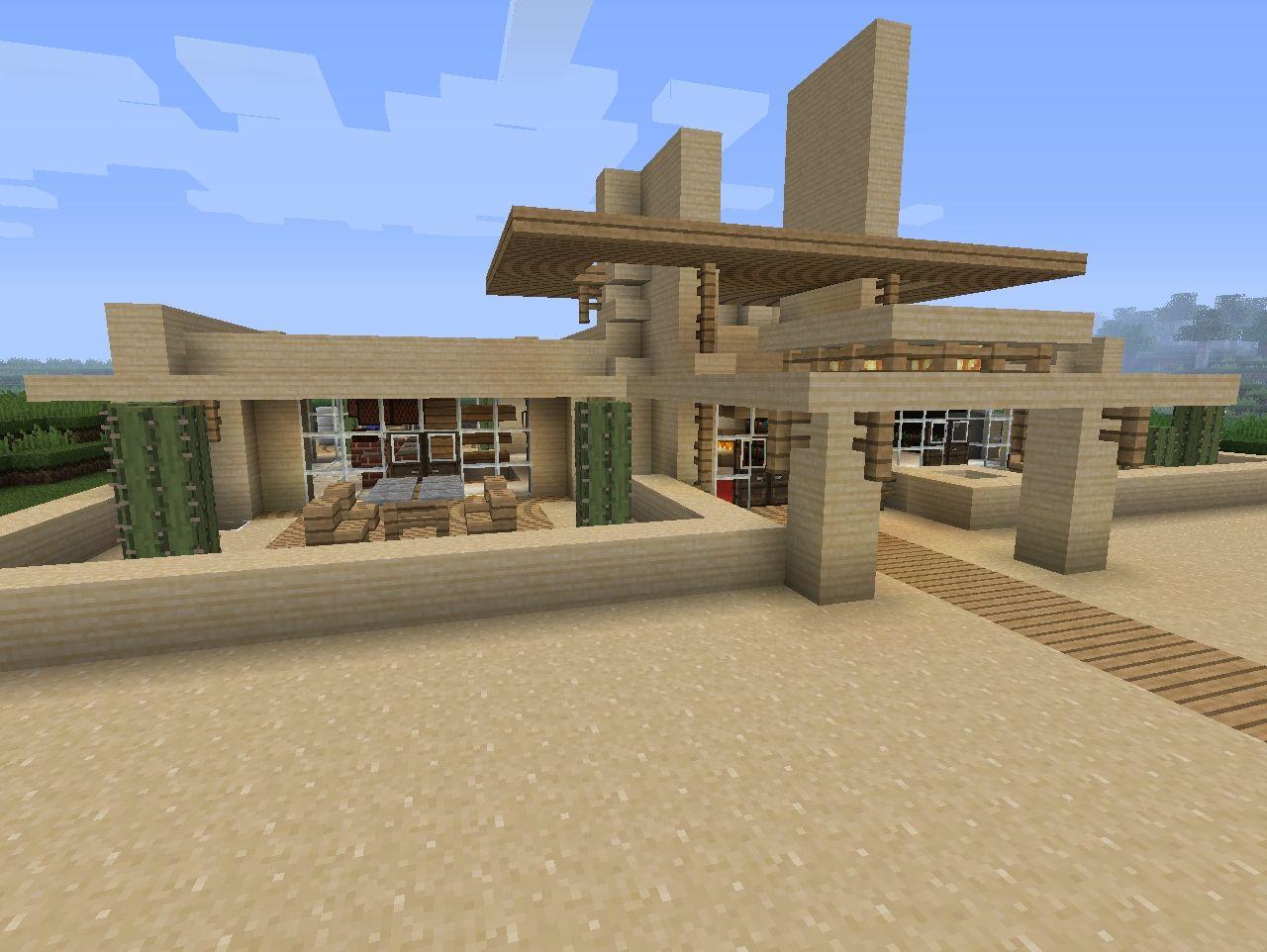 Pakistan modern home designs modern desert homes - Desert House Design Minecraft