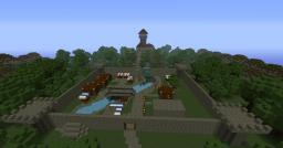 Graftin Estate w/ airship [unfinished] Minecraft Map & Project