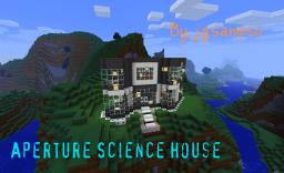 Aperture Science Themed House Minecraft Project