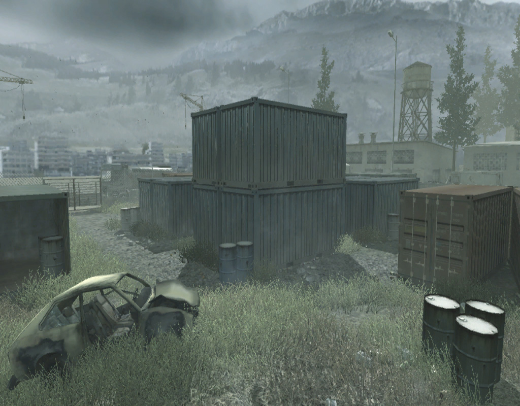 Call of Duty 4 - Shipment Map Minecraft Project Call Of Duty Maps Multiplayer on