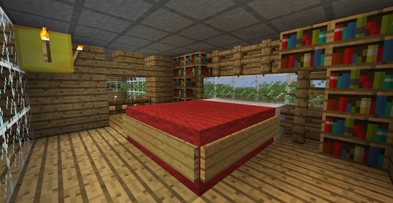 Modern House Bedroom #minecraft #interior #design # ... |Minecraft Mansion Inside Bedroom