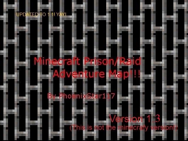 Prison Escape Raid Adventure Map 1 1 V 1 3 0 Minecraft