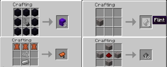 Minecraft Crafting How To Make A Saddle